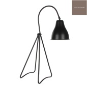 Afbeelding van Casa vivante bureaulamp kiki zwart