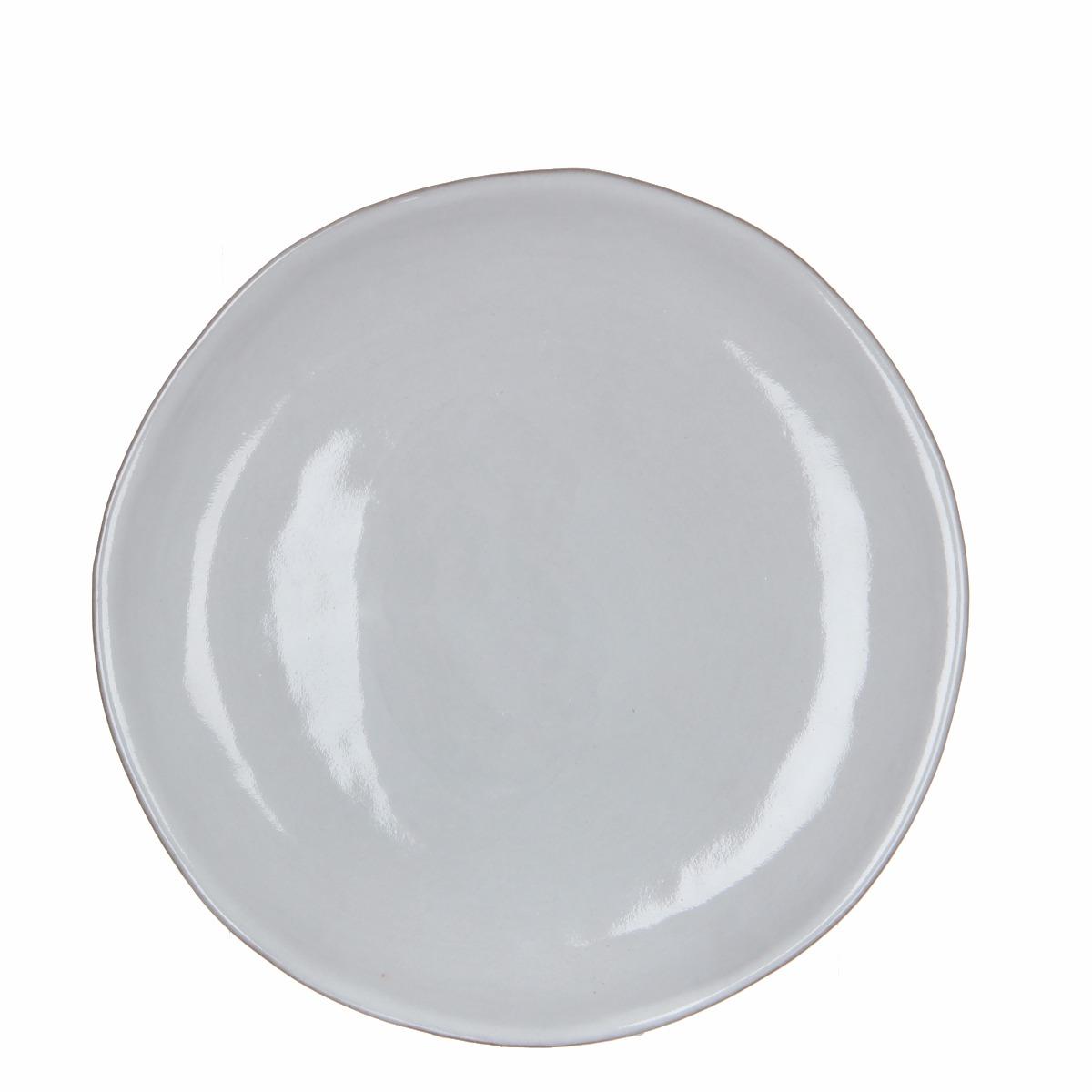 Afbeelding van Casa vivante bord ursula wit h2xd29cm