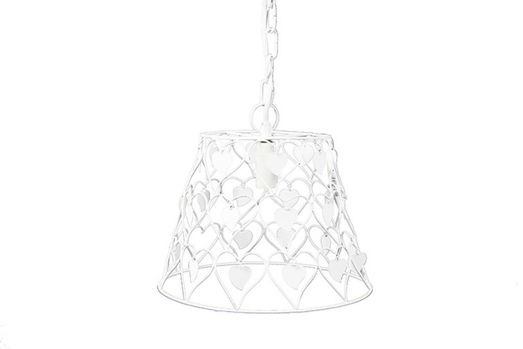 Afbeelding van Countryfield Hanglamp lynzi 26x99cm wit