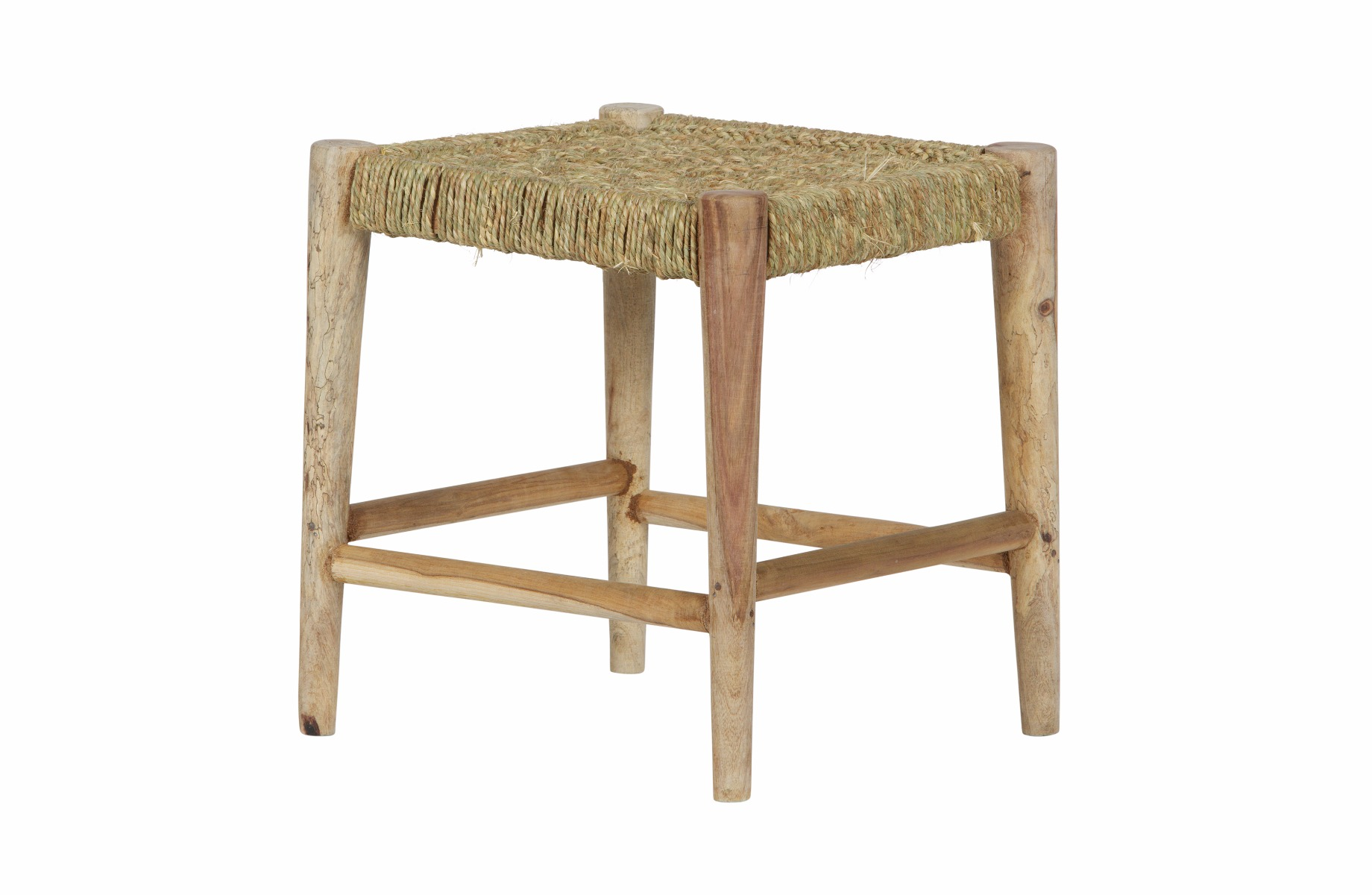 Afbeelding van Bepurehome kruk wicker hout naturel