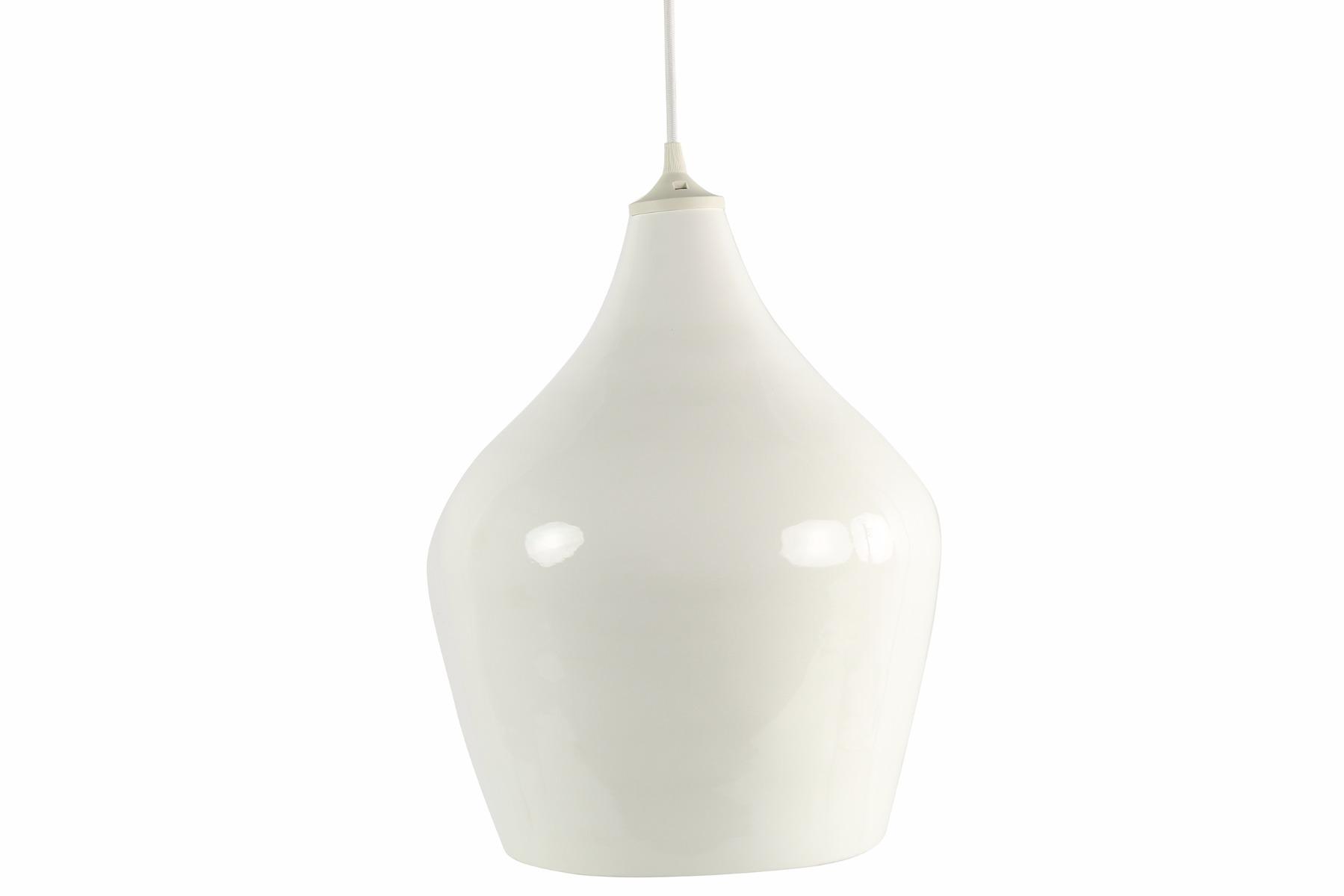 Afbeelding van Countryfield hanglamp wit 39cm