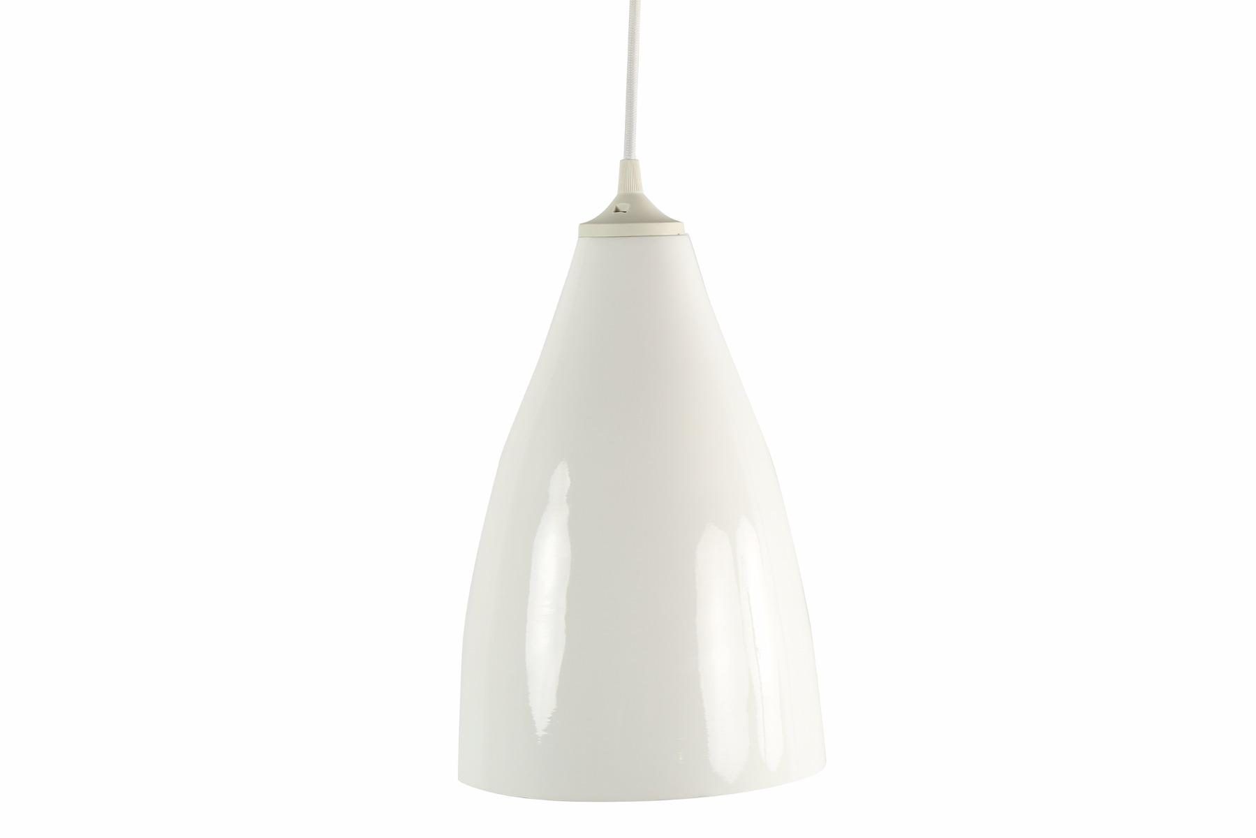 Afbeelding van Countryfield hanglamp wit 29cm