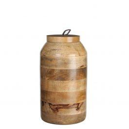 Casa vivante pot deksel nina h27d15 l bruin outlet duiven for Verlichting duiven outlet