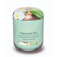 Heart & Home Geurkaars Large Kalmerende Aloë