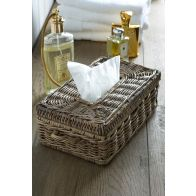 Riviera Maison Rustic Rattan Tissue Box Holder