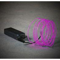 Mica Neon Light Snoer Paars LED L275cm