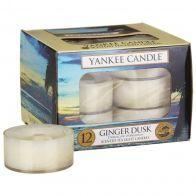 Yankee Candle Ginger Dusk Tea Lights 12 st