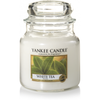 Yankee Candle White Tea Medium Jar