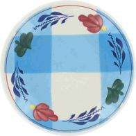 Boerenbont & Bonter Petit Four 11cm Blauwe Ruit