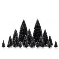 Lemax Assorted Pine Trees Set Van 21