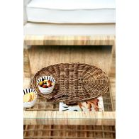 Riviera Maison Rustic Rattan Placemat Oval
