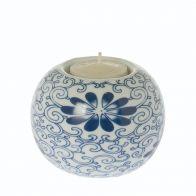 Riverdale Sfeerlicht Flower blauw 9cm