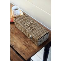 Riviera Maison Rustic Rattan Tea Bags Organiser L