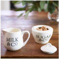 Riviera Maison RM Classic Milk & Sugar Set