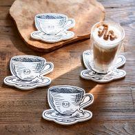 Riviera Maison RM Café Coasters 4 pcs