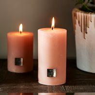 Riviera Maison Rustic Candle Pretty Peach 7x13cm