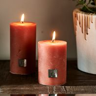 Riviera Maison Rustic Candle Apricot 7x10cm