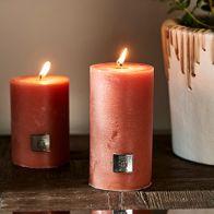 Riviera Maison Rustic Candle Apricot 7x13cm