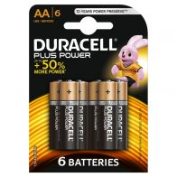 DURACELL PLUS POWER AA 6 PACK