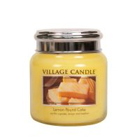 Village Candle Lemon Pound Cake Medium Candle