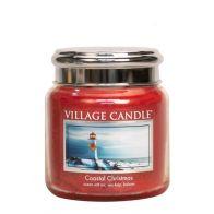 Village Candle Coastal Christmas Medium Candle