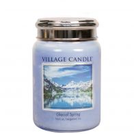 Village Candle Glacial Spring Large Candle