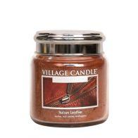 Village Candle Italian Leather Medium Candle