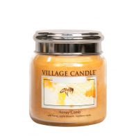 Village Candle Honey Comb Medium Candle