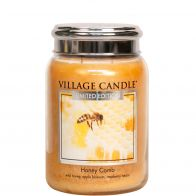 Village Candle Honey Comb Large Candle