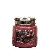 Village Candle Dark Chocolate Rose Medium Candle