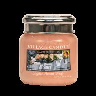 Village Candle English Flower Shop Mini Candle