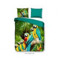 Dekbedovertrek Parrots Multi