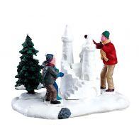 Lemax Snow Castle