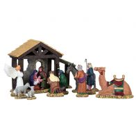 LEMAX FIRST CHRISTMAS, SET OF 11