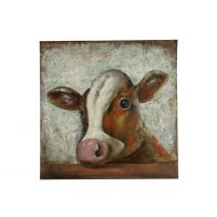 Countryfield Schilderij Cow Bruin Side