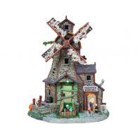 Lemax Haunted Windmill