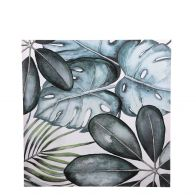 Mica Muurdecoratie Bladeren Groen L70xB70cm