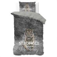 Dekbedovertrek Stronger Grey