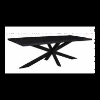 Eetkamertafel Brazil Zwart 220x100cm