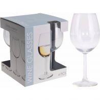 Witte Wijnglas 430ml Set 4-Delig