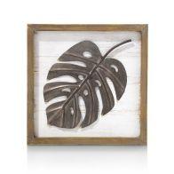 Coco Maison Wanddeco Monstera Leaf 30x30cm