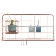 Present Time Kitchen Rack Open Grid Copper