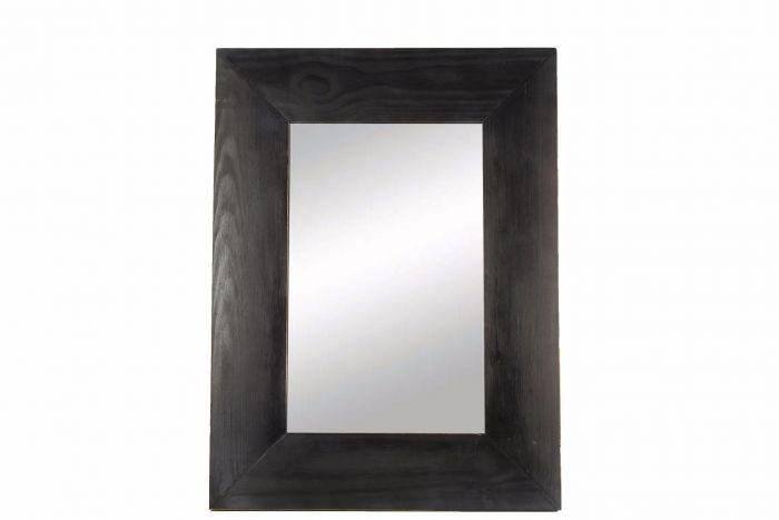 White Wash Spiegel : Countryfield spiegel hennie white wash zwart 80.5cm outlet duiven