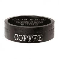 RIVERDALE DOOS COFFEE ROND 30CM ZWART