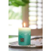 RUSTIC CANDLE MAGICAL MINT 7 X 10