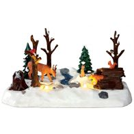LEMAX SNOWY FOREST