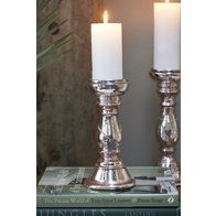 RIVIERA MAISON COCONUT GROVE CANDLE HOLDER PINK S