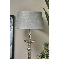 RIVIERA MAISON LOVEABLE LINEN LAMPSHADE GREY 35X45