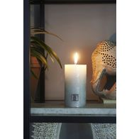 RIVIERA MAISON RUSTIC CANDLE PEARL JADE 7X13