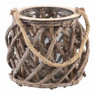 PTMD WINDLICHT TWIGS WITH ROPE L